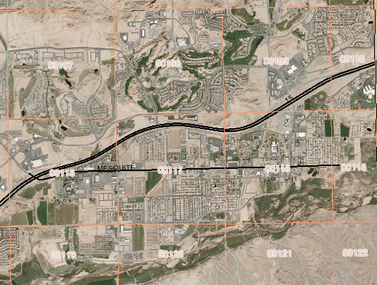 assessor map of Mesquite Nevada