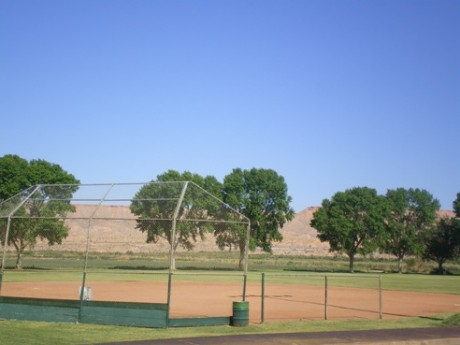Softball Field at Park
