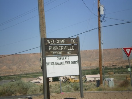 Welcome to Bunkerville Nevada