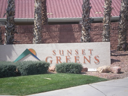 Sunset Greens in Mesquite Nevada