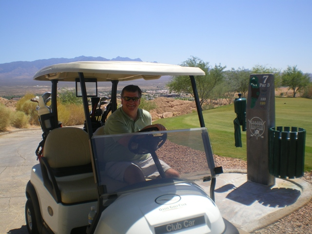Buck Schaeffel - Realtor and Golfer (in that order)