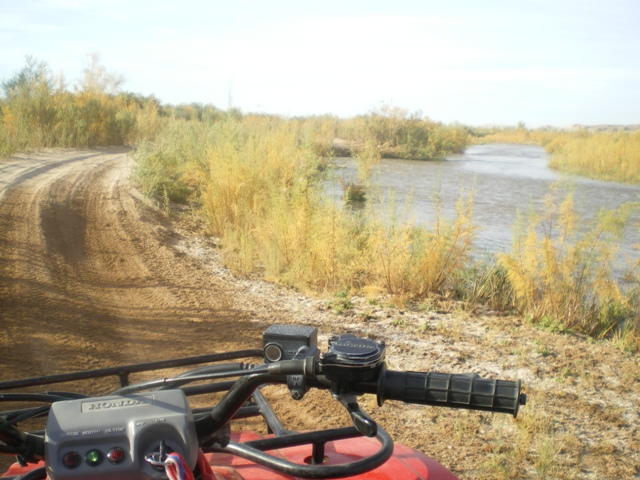 Virgin River with ATV