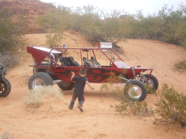 Sand Rail at Red Rock