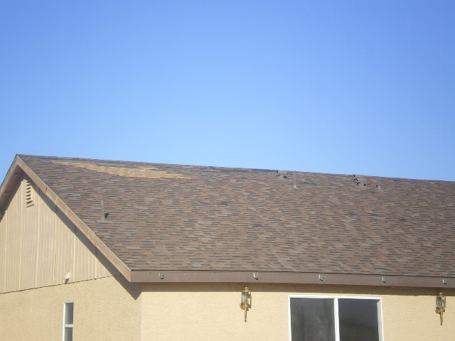 Asphalt Roof in Mesquite NV with problems