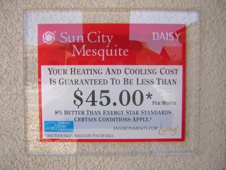 guaranteed monthly heating and cooling costs