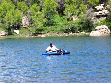 fishing in kolob canyon reservoir