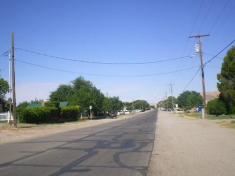 Photo of Virgin Street in Bunkerville