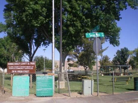 Thomas Dudley Leavitt Sr. Park in  Bunkerville