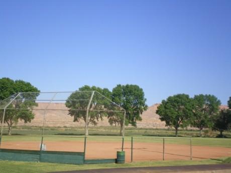Softball Field at Park