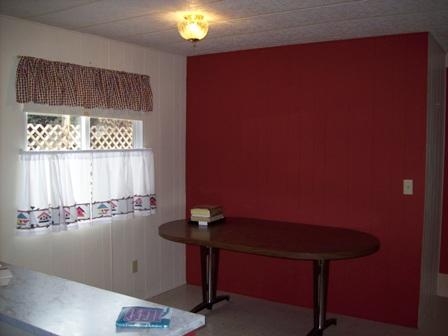 Interior photos of AZ mobile home