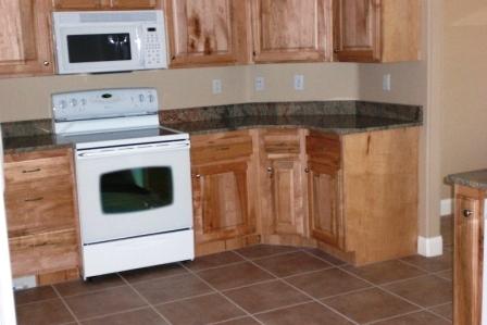 Kitchen of Highland Hills home