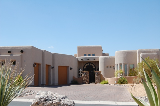 Santa Fe Style Homes Of Luxury Homes Of Mesquite Homes Nv